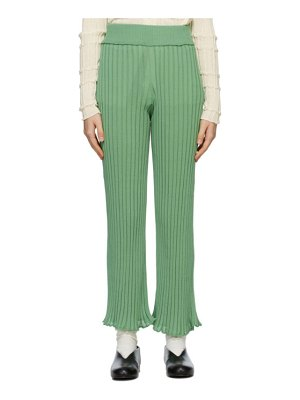 Rus ssense exclusive green ombre lounge pants
