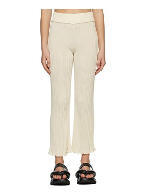 Rus ssense exclusive off-white ombre lounge pants