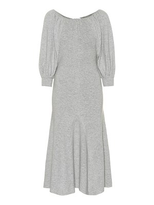Ryan Roche cashmere midi dress