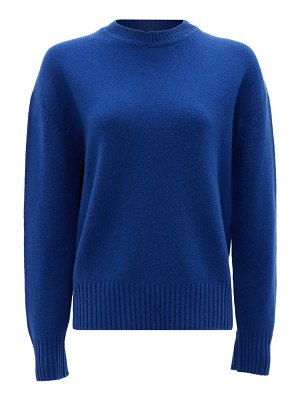 Ryan Roche crew-neck cashmere sweater
