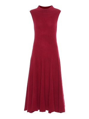 Ryan Roche Knitted cashmere dress