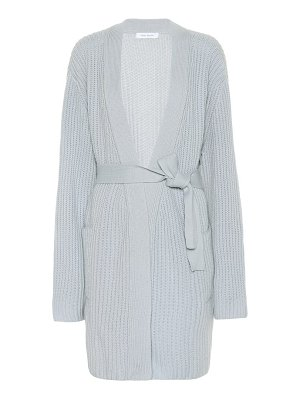 Ryan Roche ribbed-knit cashmere cardigan