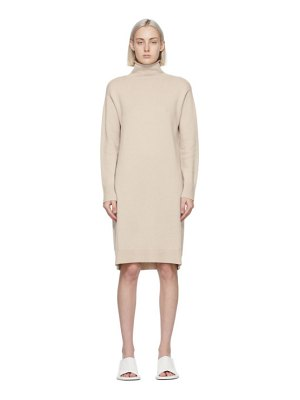 S MAX MARA beige adelfi dress