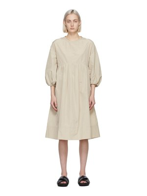 S MAX MARA beige esotico dress