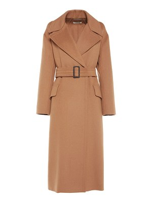 'S Max Mara Belted double breast wool coat