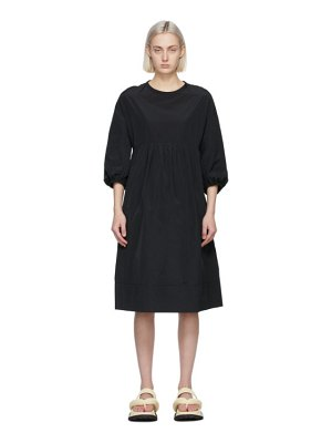 S MAX MARA black esotico dress