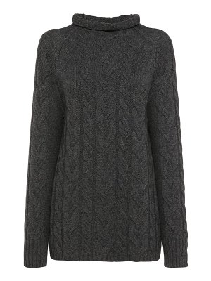 'S Max Mara Cashmere & wool cableknit sweater