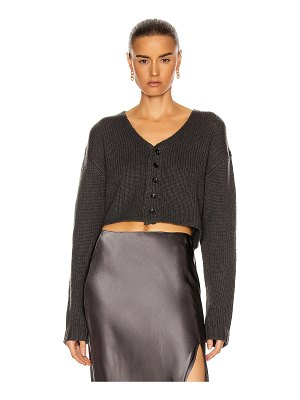 Sablyn bianco crop sweater