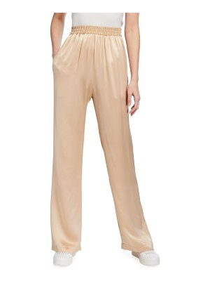 Sablyn Silk Pull-On Pants