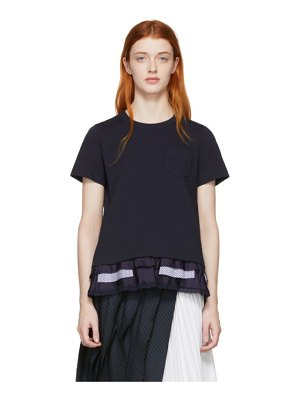 Sacai cotton jersey t-shirt