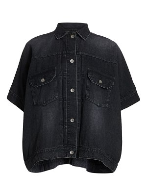 Sacai denim shirt