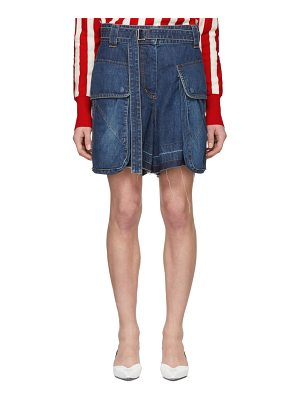 Sacai Denim Shorts