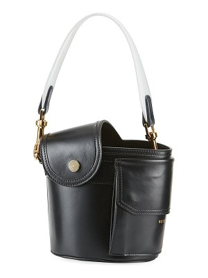Sacai Thermos Leather Bucket Bag