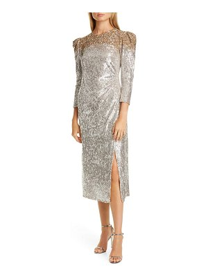 Sachin & Babi ombre sequin cocktail dress