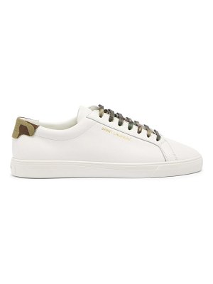 Saint Laurent andy leather trainers