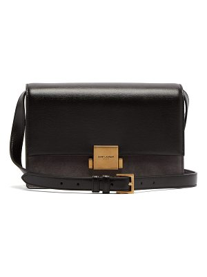 Saint Laurent Bellechasse medium leather and suede bag