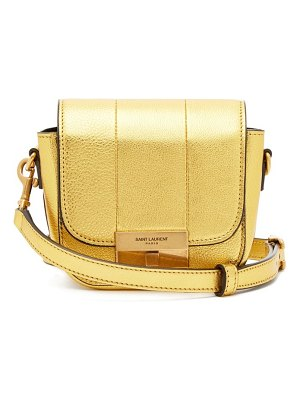 Saint Laurent betty mini metallic leather cross body bag