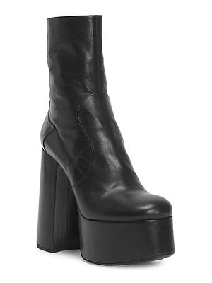 Saint Laurent billy platform leather boots