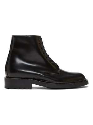 Saint Laurent black army boot