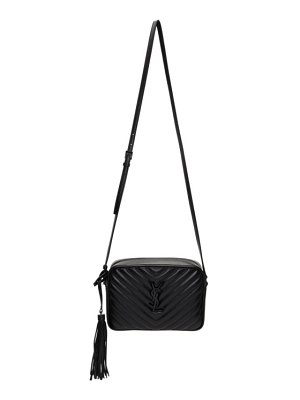 Saint Laurent black lou camera bag
