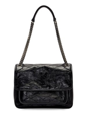 Saint Laurent black medium niki bag