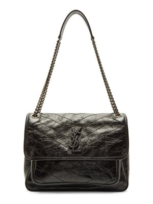 Saint Laurent black medium niki chain bag