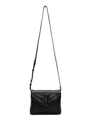 Saint Laurent black toy loulou bag