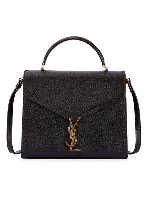 Saint Laurent Cassandra Grained Shoulder Bag