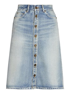 Saint Laurent denim skirt