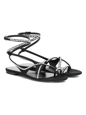 Saint Laurent gia 05 crystal-embellished sandals