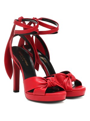 Saint Laurent Hall 105 leather sandals