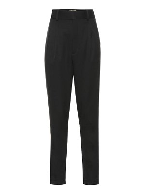 Saint Laurent high-rise wool pants