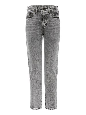 Saint Laurent High-waisted slim-fit jeans