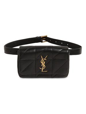 Saint Laurent Jamie quilted leather belt bag