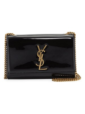 Saint Laurent Kate Monogram YSL Small Patent Leather Crossbody Bag