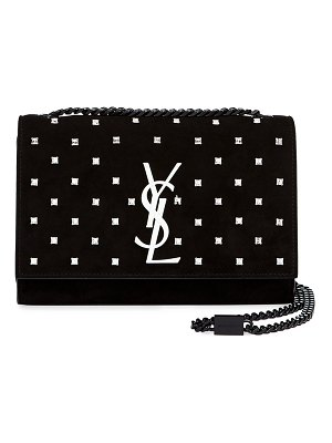 Saint Laurent Kate Small Monogram YSL Leather Crossbody Bag with Crystals