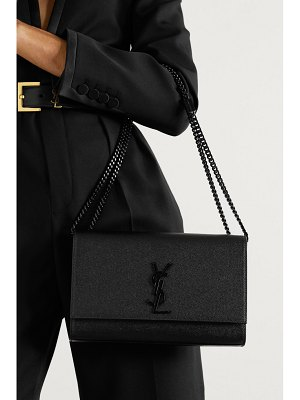Saint Laurent kate textured-leather shoulder bag