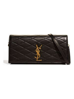 Saint Laurent Kate YSL Quilted Leather Crossbody Bag