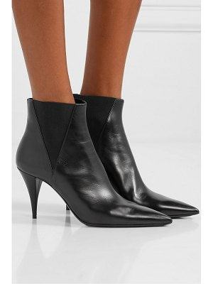 Saint Laurent kiki leather ankle boots