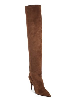 Saint Laurent kiki over the knee boot