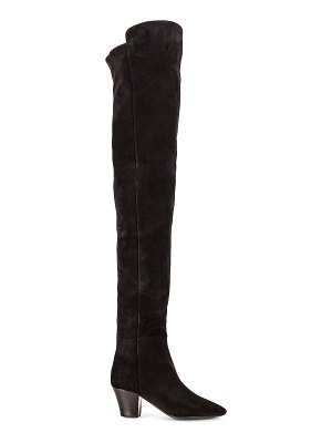 Saint Laurent kim over the knee boots