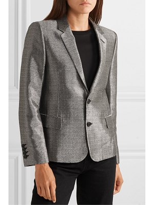 Saint Laurent lamé blazer