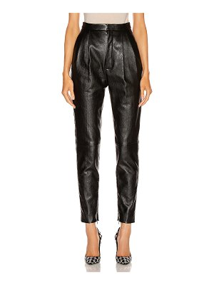Saint Laurent leather pant