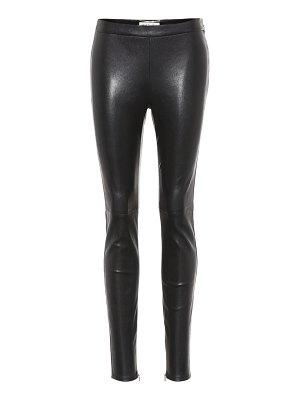 Saint Laurent Leather trousers