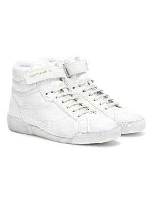Saint Laurent Lenny leather sneakers