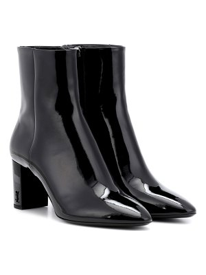 Saint Laurent lou 70 patent leather ankle boots