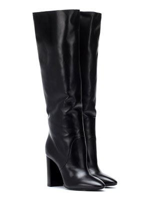 Saint Laurent Lou 95 leather boots