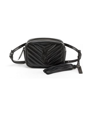 Saint Laurent Lou Quilted Calfskin Belt Bag