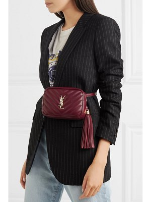 Saint Laurent lou quilted leather belt bag