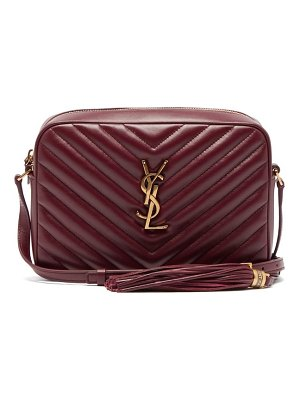Saint Laurent lou quilted leather cross body bag